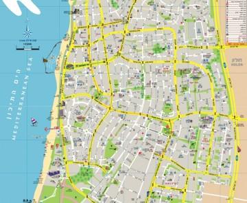 מפת העיר