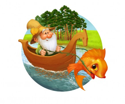 """שעת סיפור: הדייג ודג הזהב, גילאי 3-7, 5 ש""""ח"""